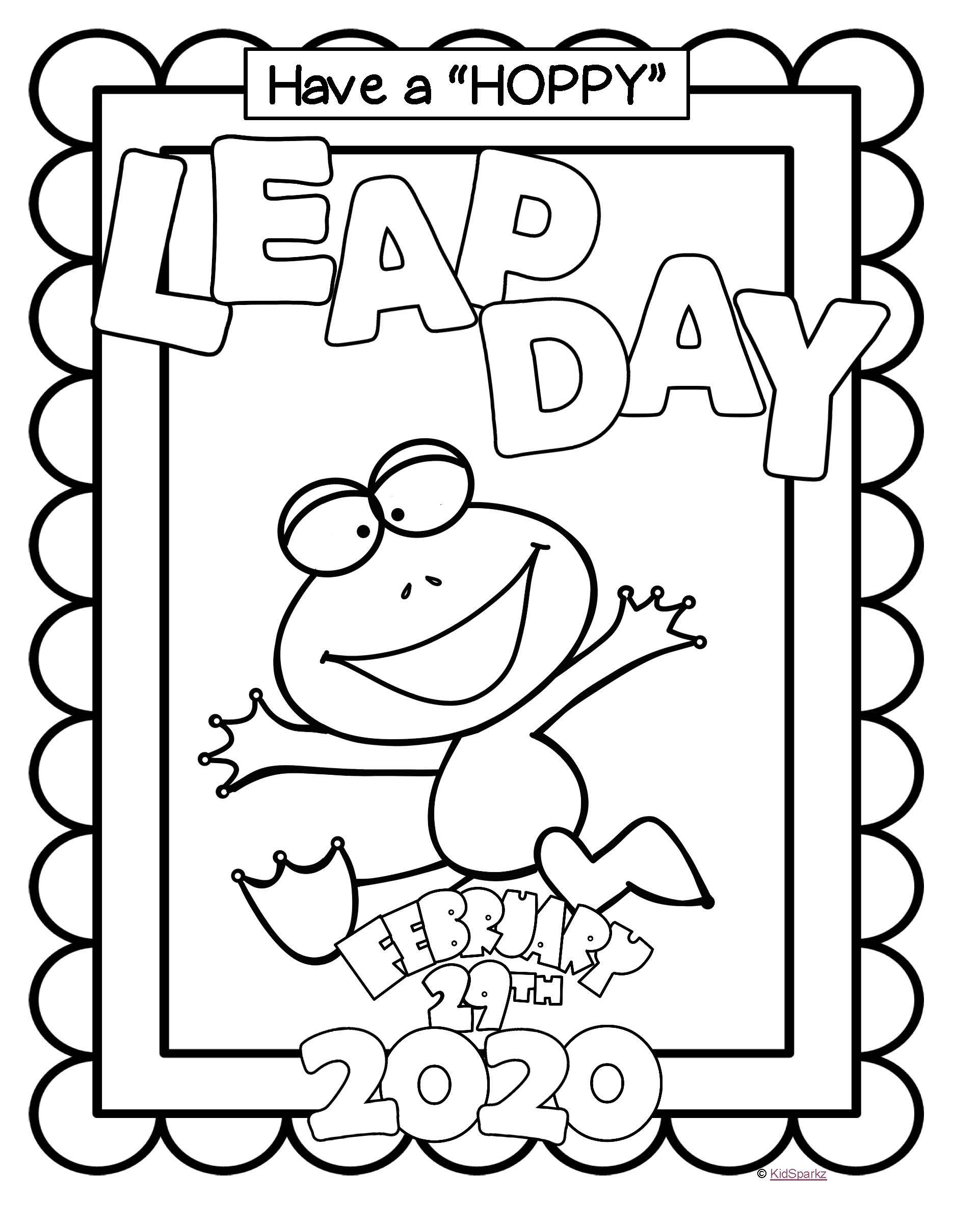 Leap Year Poster Free In