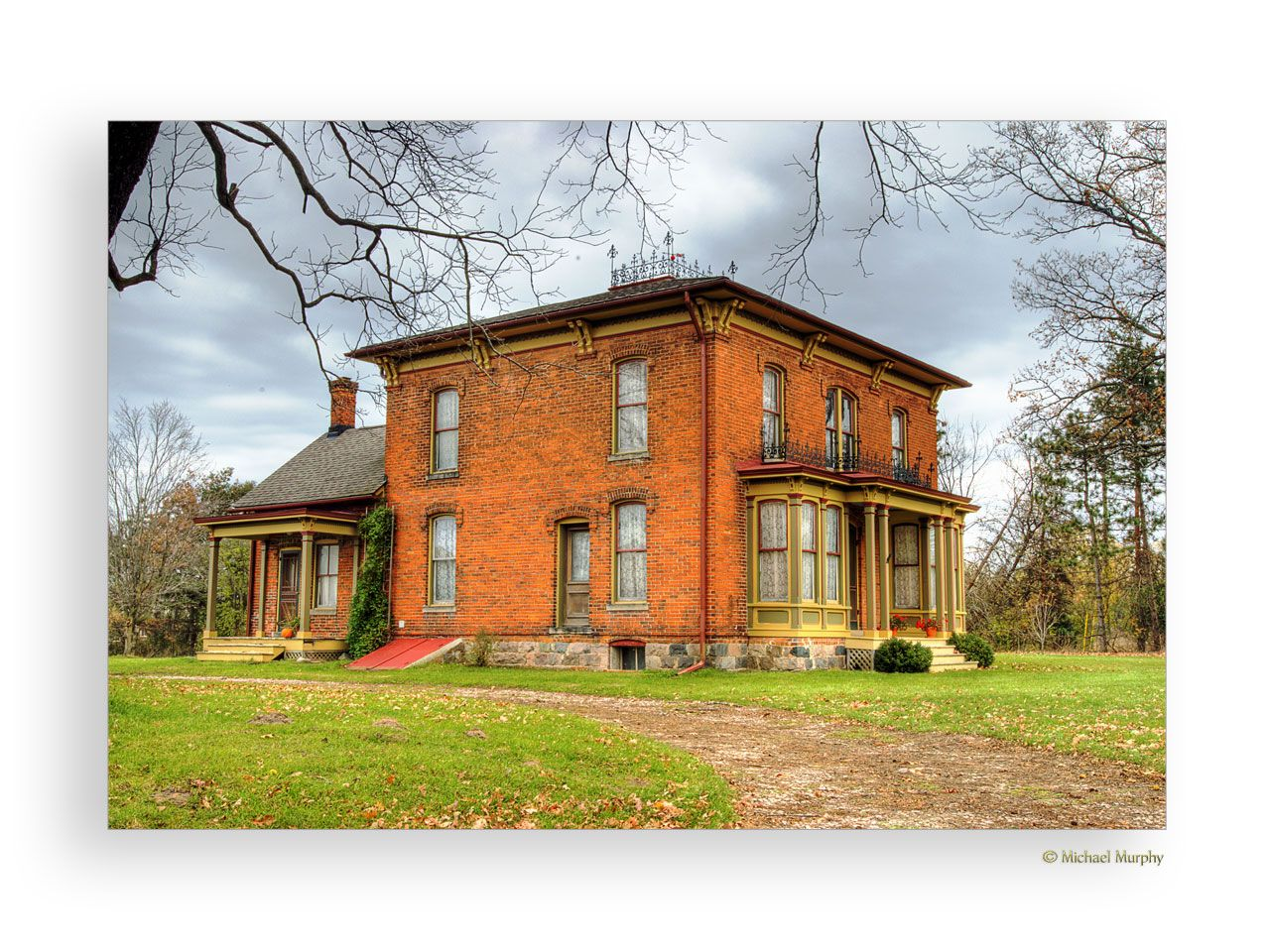 Image detail for -Old Farm House on Ann Arbor...: Photo by Photographer Michael Murphy ...
