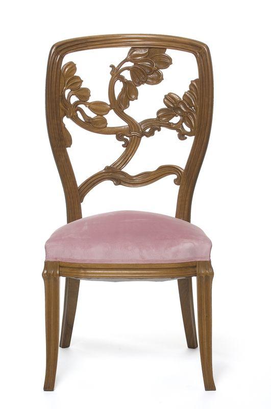 Chaise de salle à manger Les Arts décoratifs Emile Gallé emile