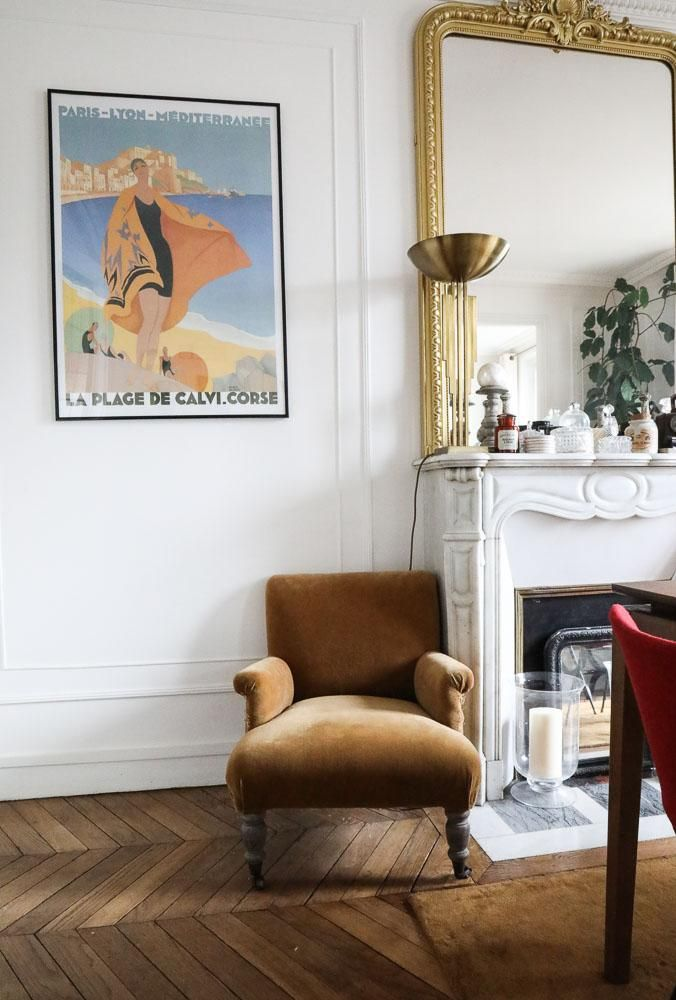 Camille Omerin, au nom du père Salons, Living rooms and Parisian - idee deco salon appartement