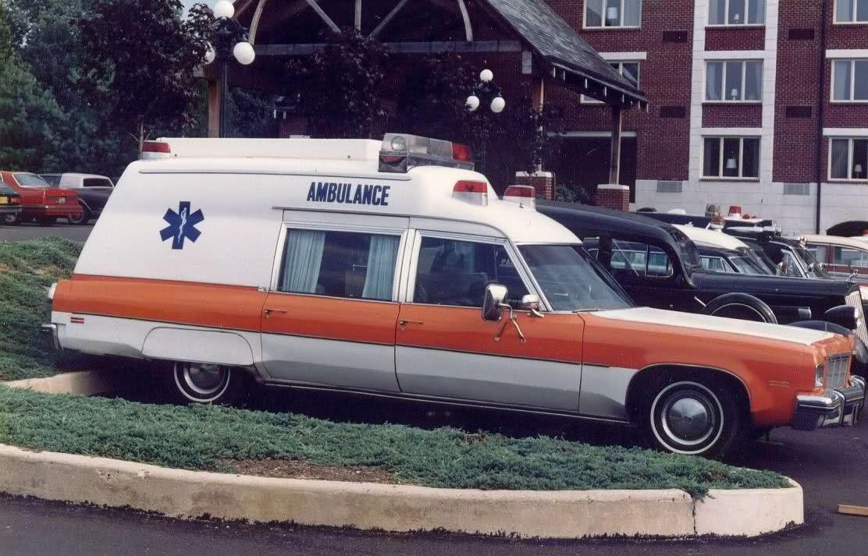 1975 Cotner - Bevington Oldsmobile Criterion ambulance