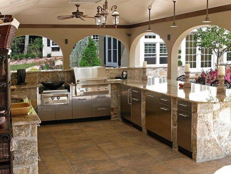 40 Incredible Outdoor Kitchen Design Ideas For Summer Outdoor Kitchen Design Outdoor Kitchen Outdoor Kitchen Design Layout
