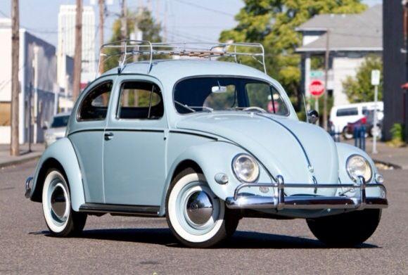 vintage volkswagen beetle in light blue aka my dream car. Black Bedroom Furniture Sets. Home Design Ideas