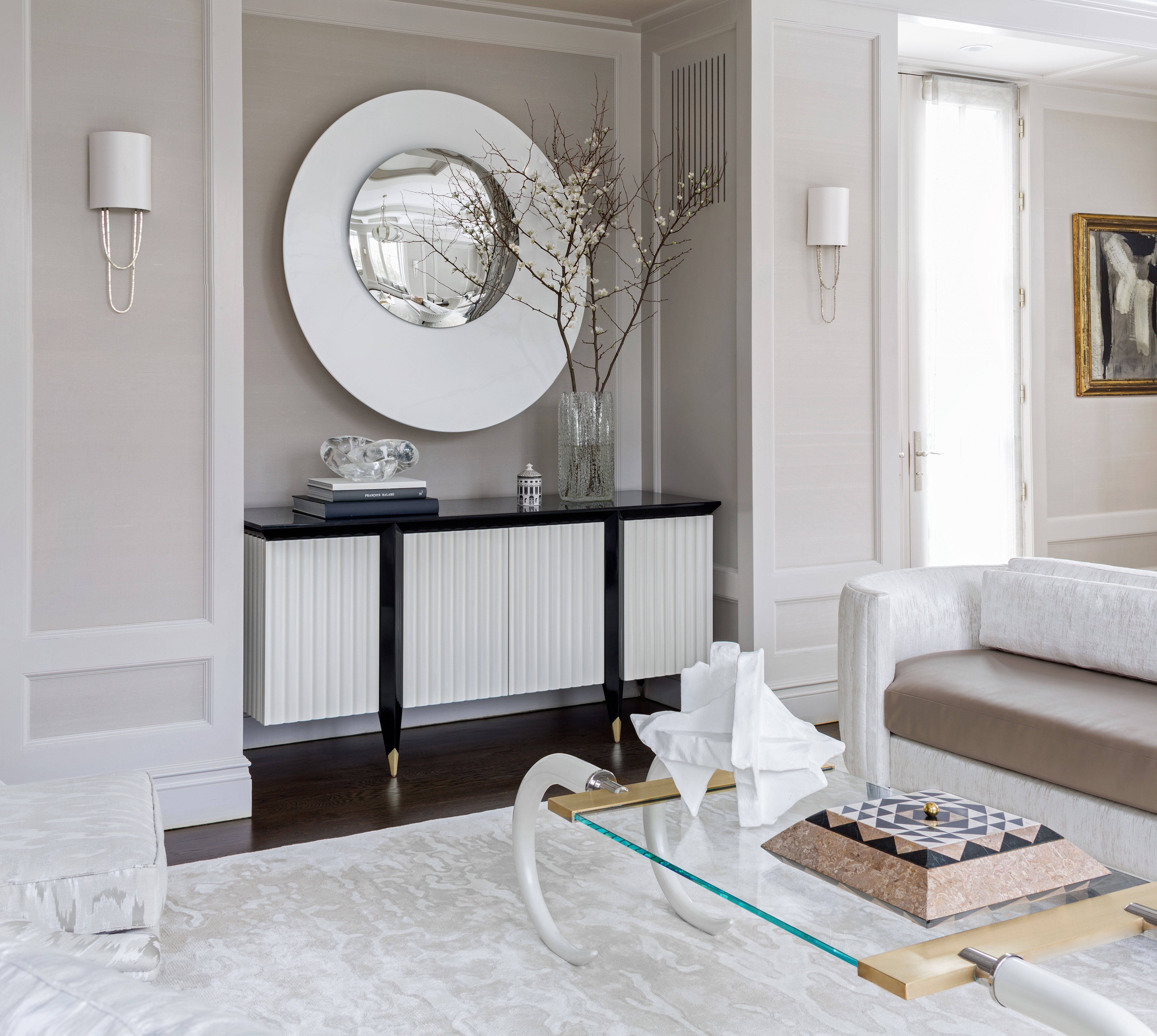 Living Hall Interior Design: Hall Interior, Interior