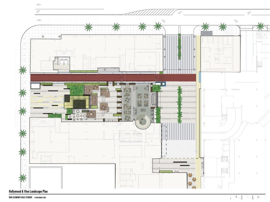 Gallery - Hollywood and Vine Metro Portal and Plaza / Rios Clementi Hale Studios - 17