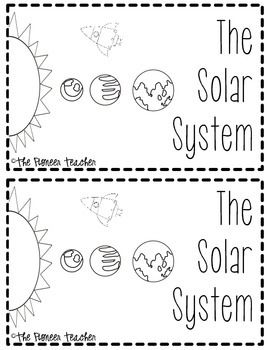 Solar System Booklet {Facts About The Planets And Sun