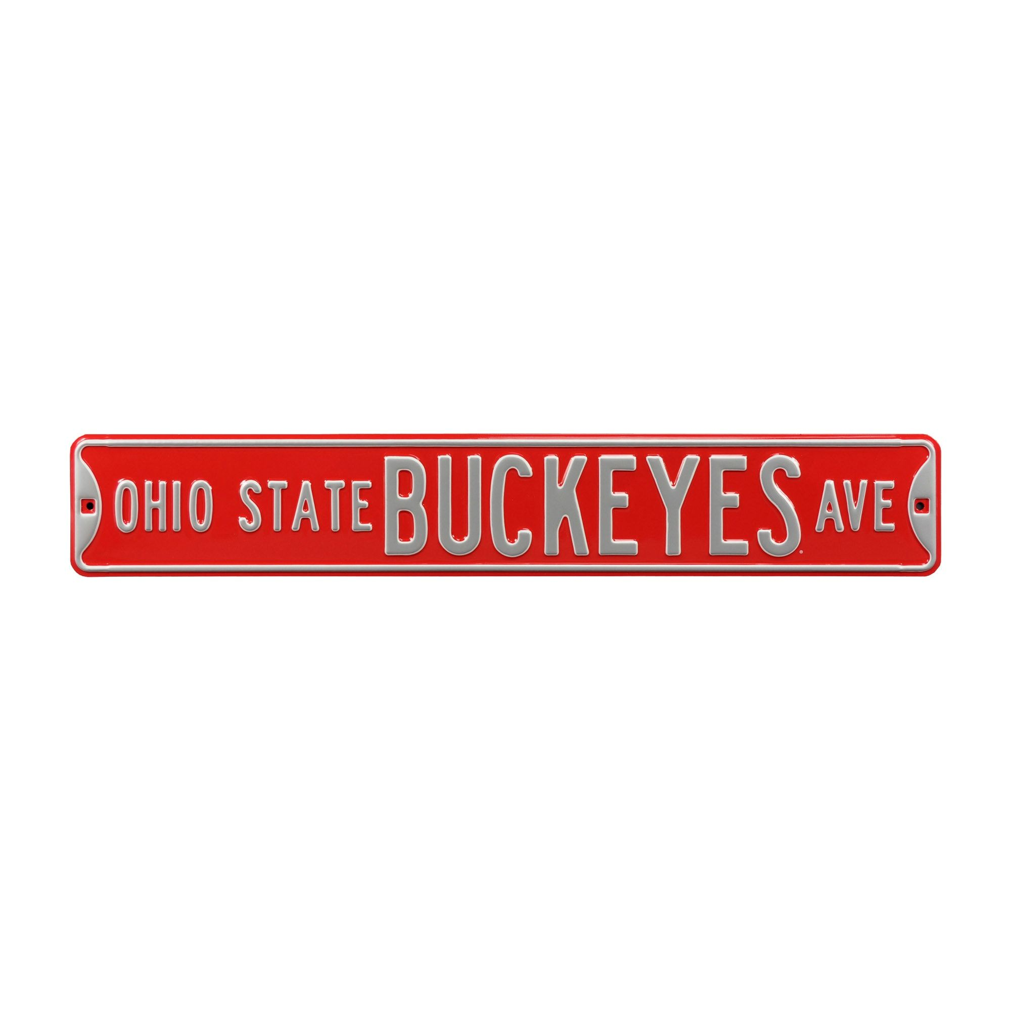 Ohio State Buckeyes: Ohio State Buckeyes Avenue - Officially Licensed Metal Street Sign