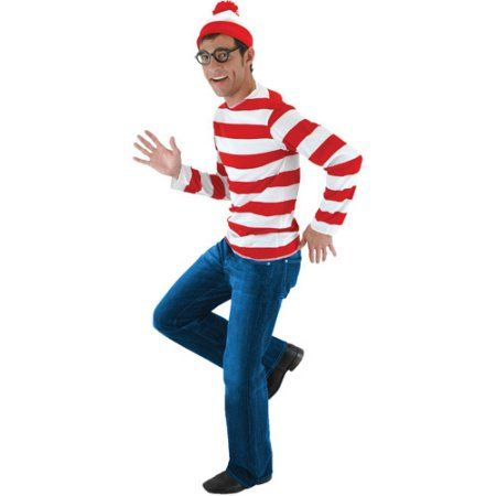 Where's Waldo Costume Kit - S/M - Walmart.com