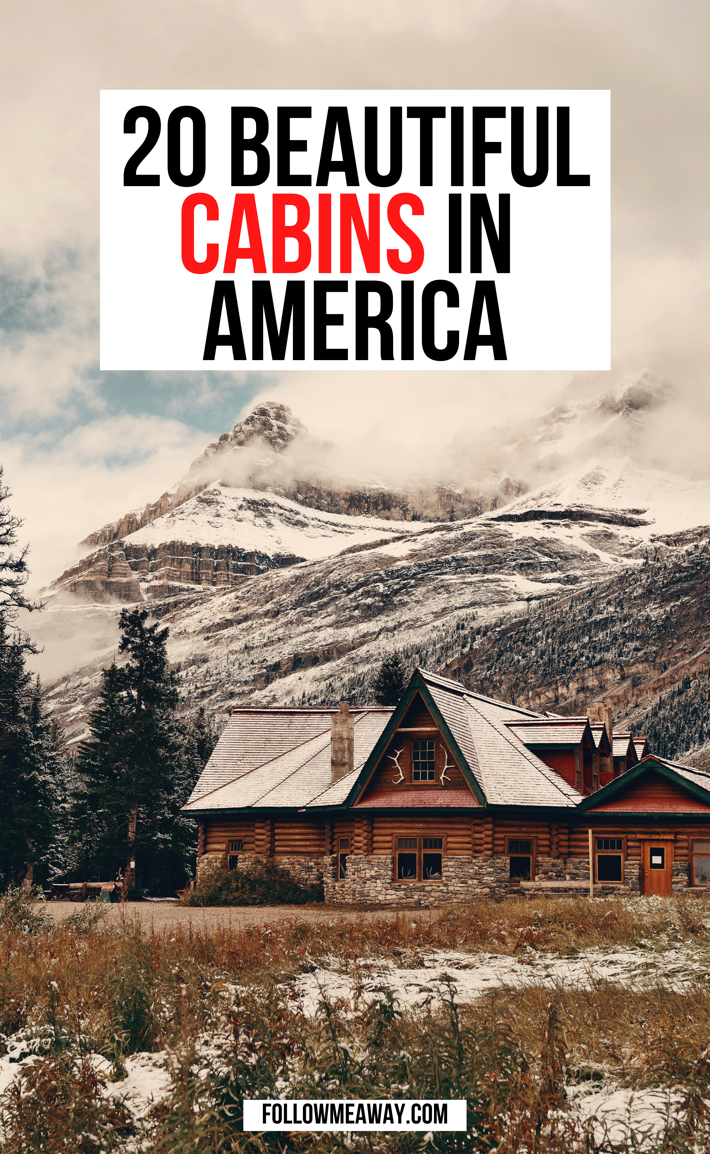 20 coolest cabins in the USA for your bucket list | best cabin getaways in america | best cabin getaways in america | best cabins in USA | where to stay in USA | romantic cabin getaways in the usa | coolest cabins in the united states #cabins #cabincrew #cabinideas #cabininthewoods #airbnb #usa #american