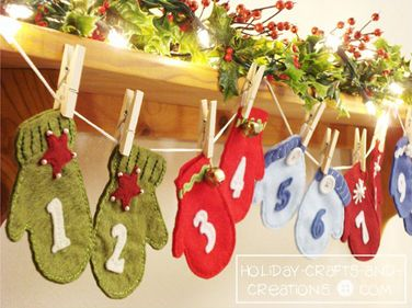 No 19 - Advent Calendar from Holiday Crafts and Creations