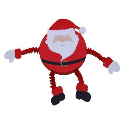 Babbo Natale Babbo Natale.Lavoretto Natale Babbo Natale Tondo Natale Babbo Natale Natale