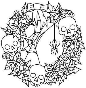 Creepy Christmas Wreath_image | Creepy christmas ...