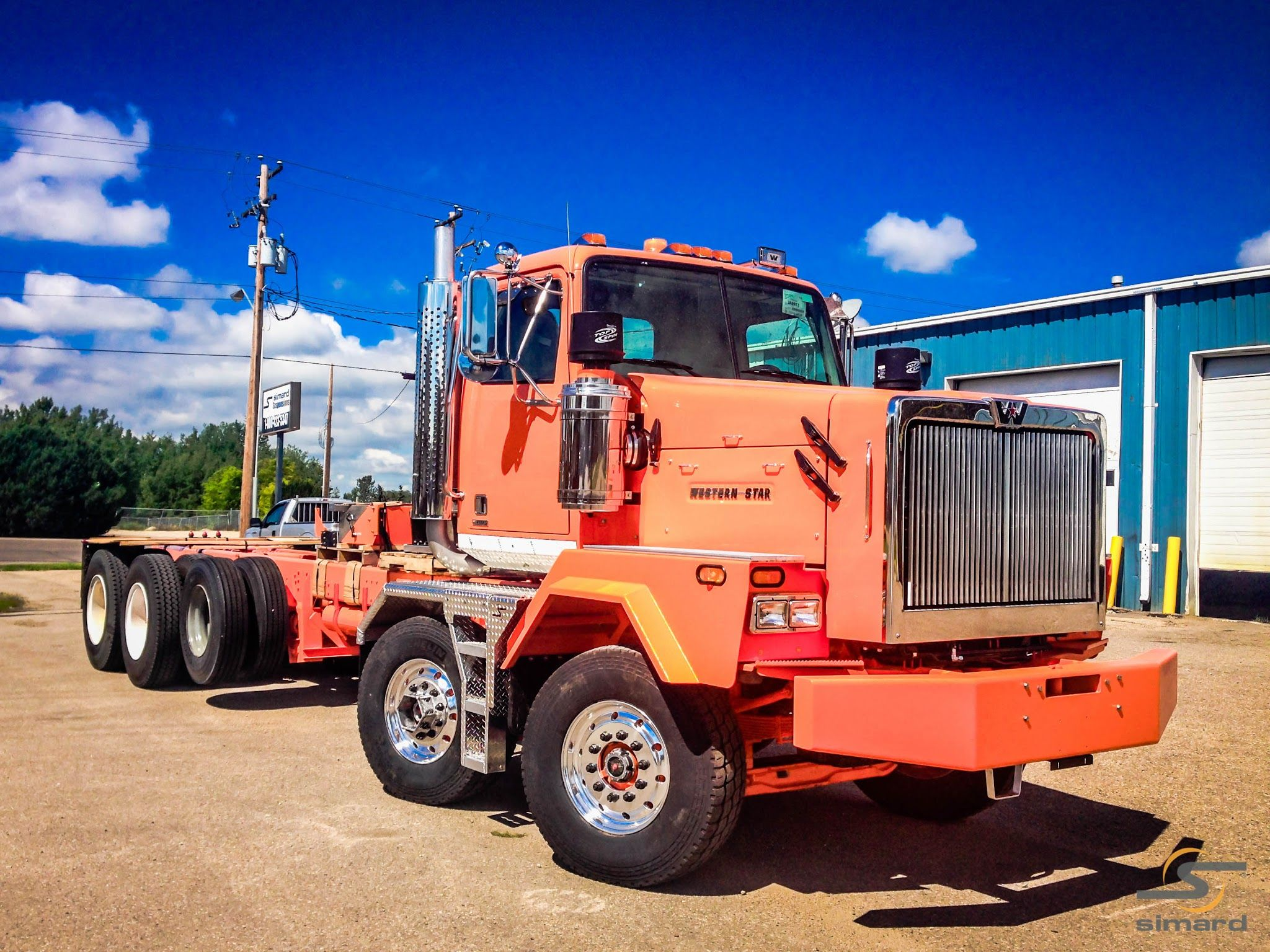 Western Star 4900xd Simard Suspensions Twin Steer Westerns