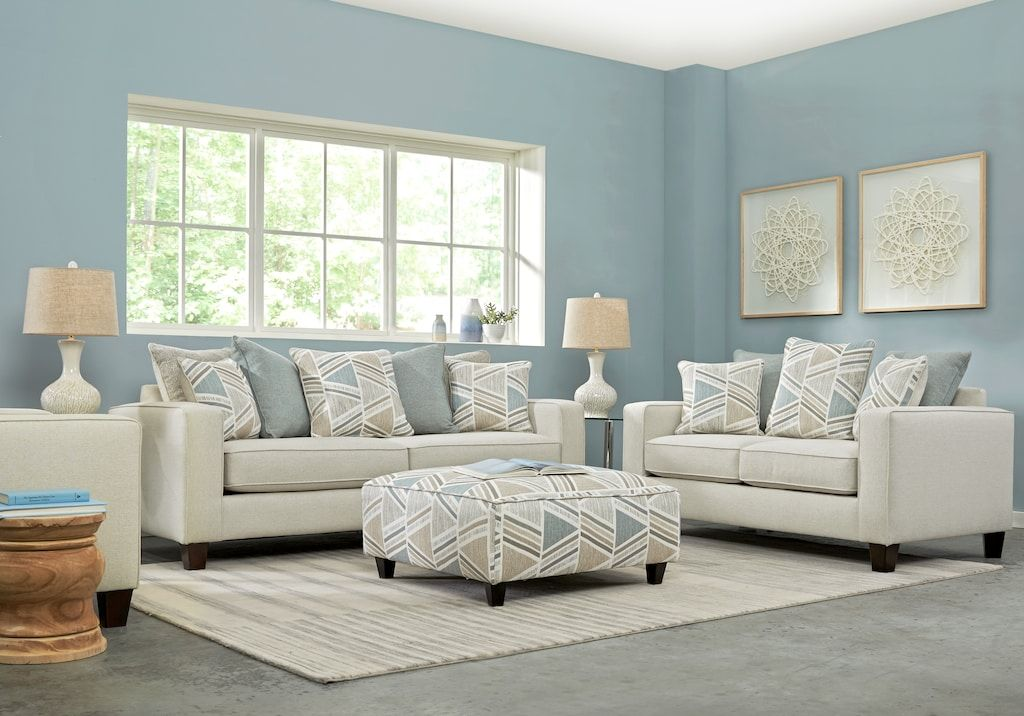 Grayfield Cream 3 Pc Living Room Living Room Sets Beige