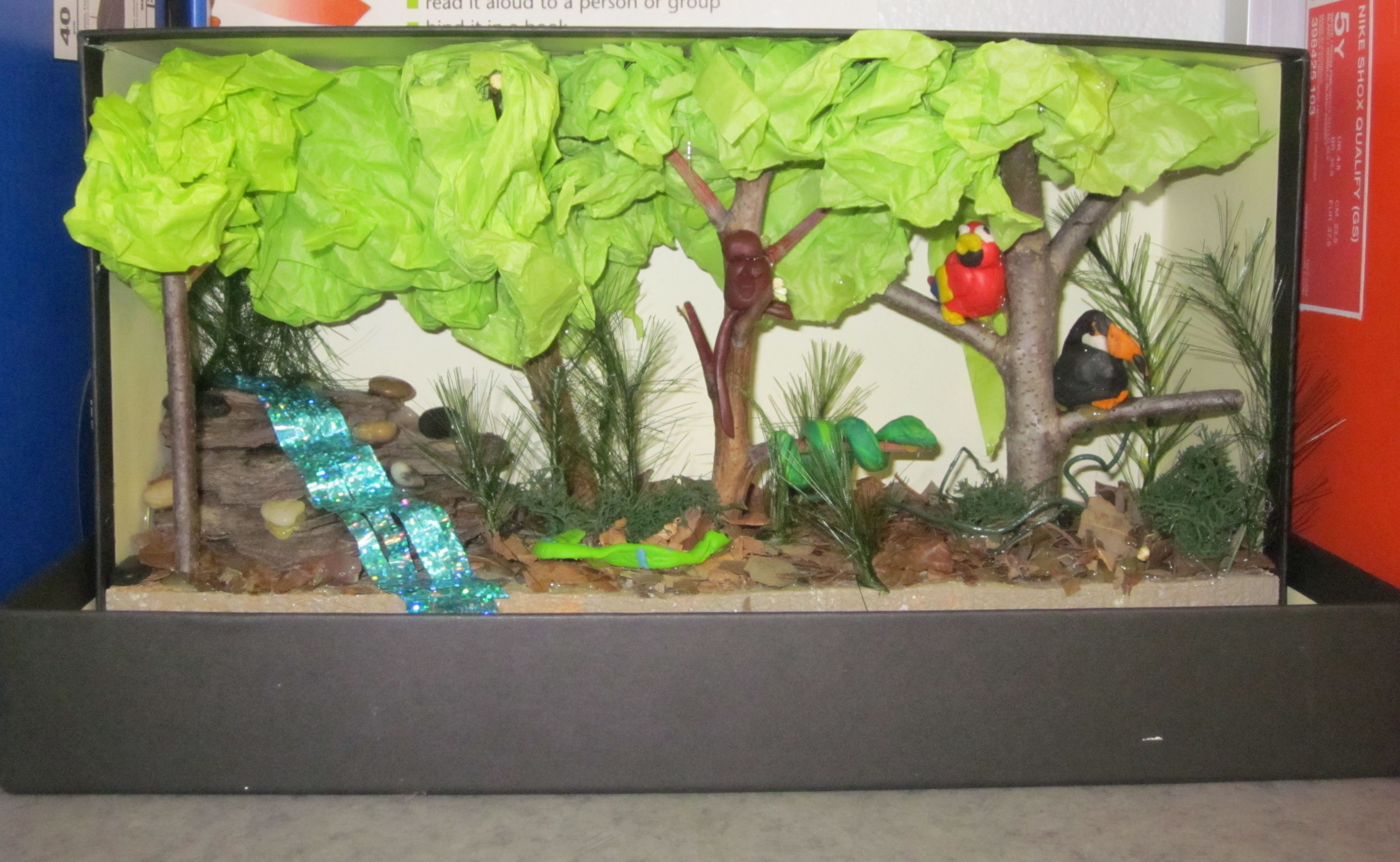 Jack And Jill Many Trades Bradys Deciduous Forest Diorama Pic 12