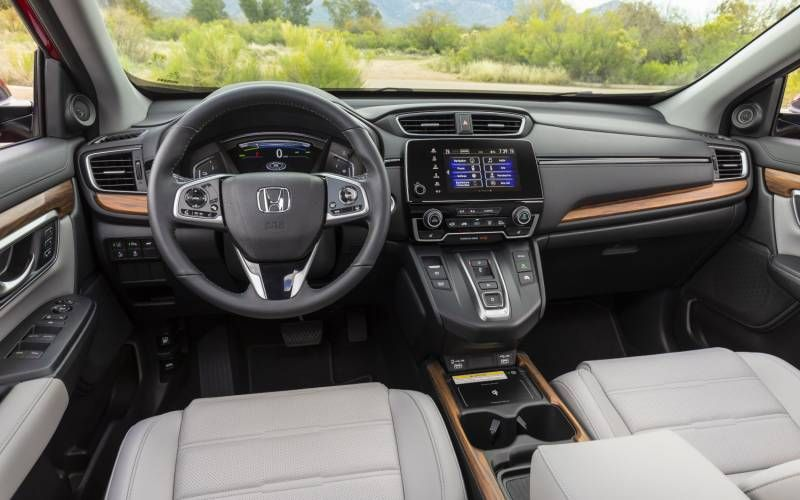 Honda Cr V Touring Hybrid 2020 In 2020 Honda Cr Honda Crv Hybrid Honda