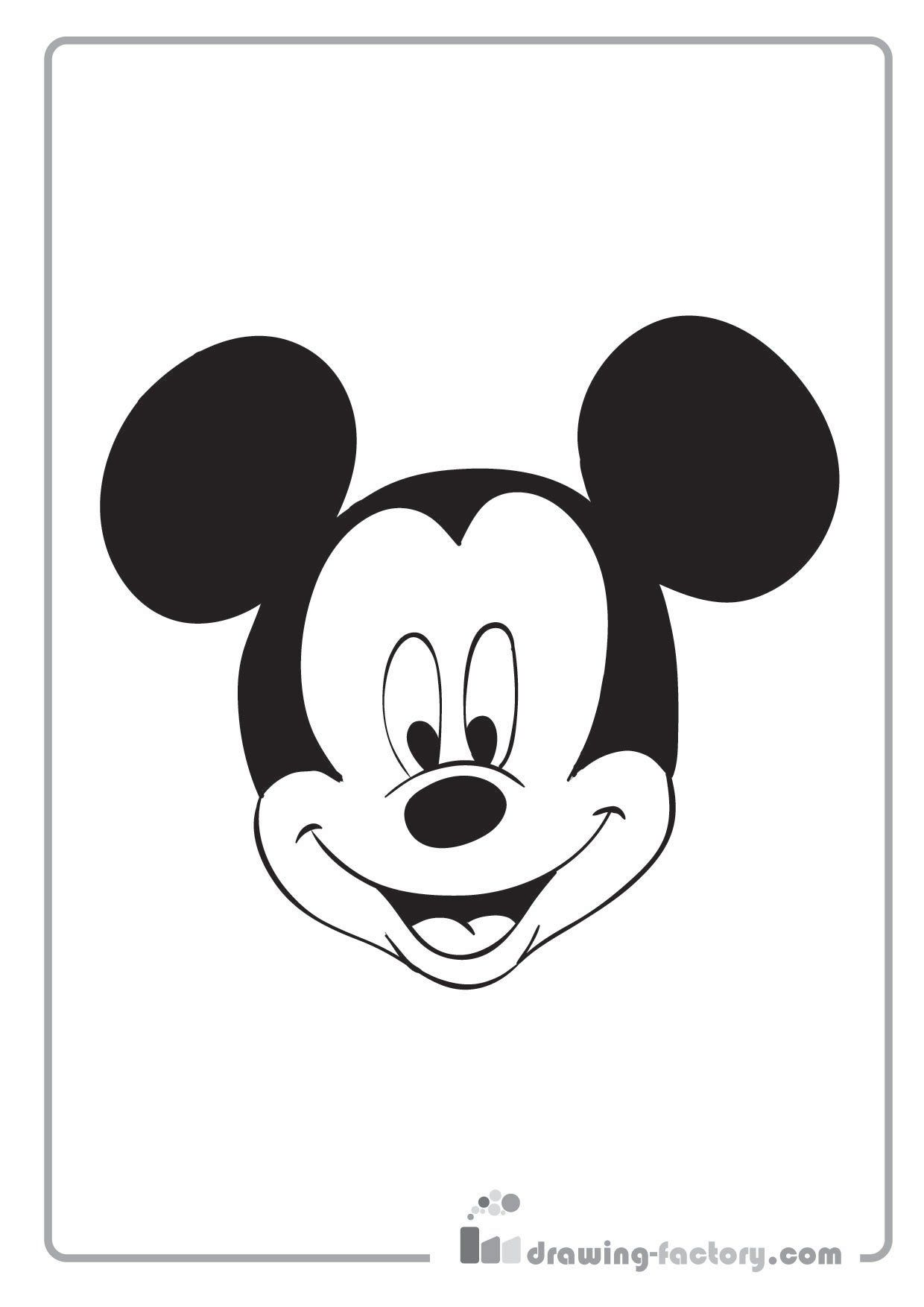 Mickey Mouse Pictures That You Can Color