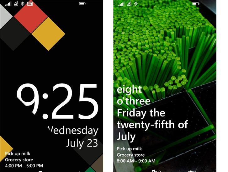 Download Lock Screen app for Windows phone 8 1   Nokia News