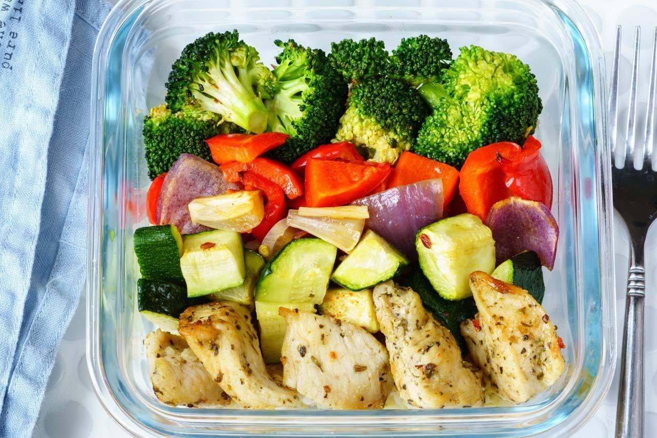 Eat Clean Meal Prep Made Simple Roasted Chicken And Veggies Recipe Clean Meal Prep Clean Recipes Meal Prep Clean Eating