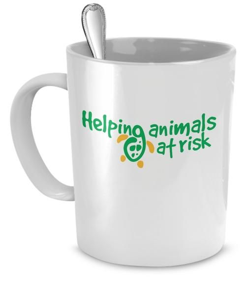 Helping Animals At Risk : helping, animals, Helping, Animals, Coffee, Mugs,