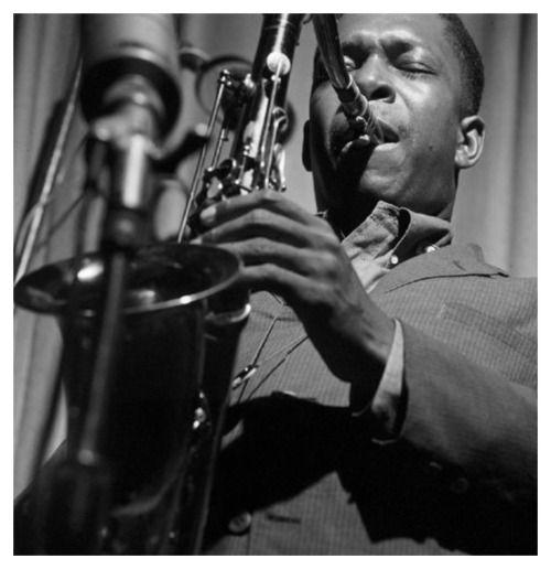 "onedownoneup: "" John Coltrane, 1959. """