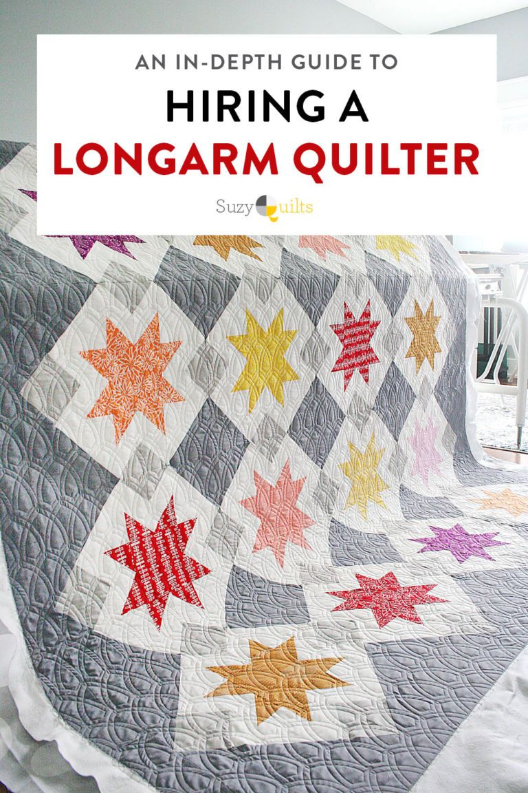 Hiring a Longarm Quilter An InDepth Guide Longarm