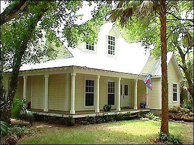I Love Old Florida Cracker Houses They Have A Certain