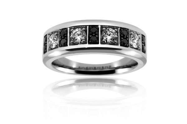 find this pin and more on mens wedding rings mens white gold black diamond