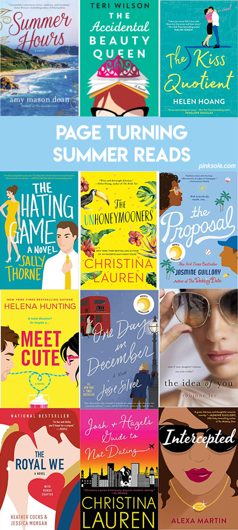 Page Turning Summer Reads Book Club Books Beach Reading Reading