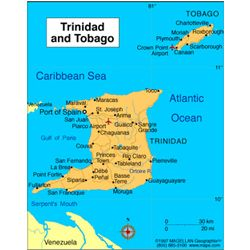 Pin By Gillian Felix On World Issues Tobago Map Trinidad Trinidad Tobago