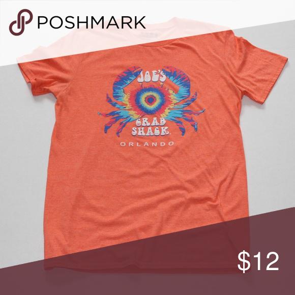 NEW Joe/'s Crab Shack T-shirt Size Small