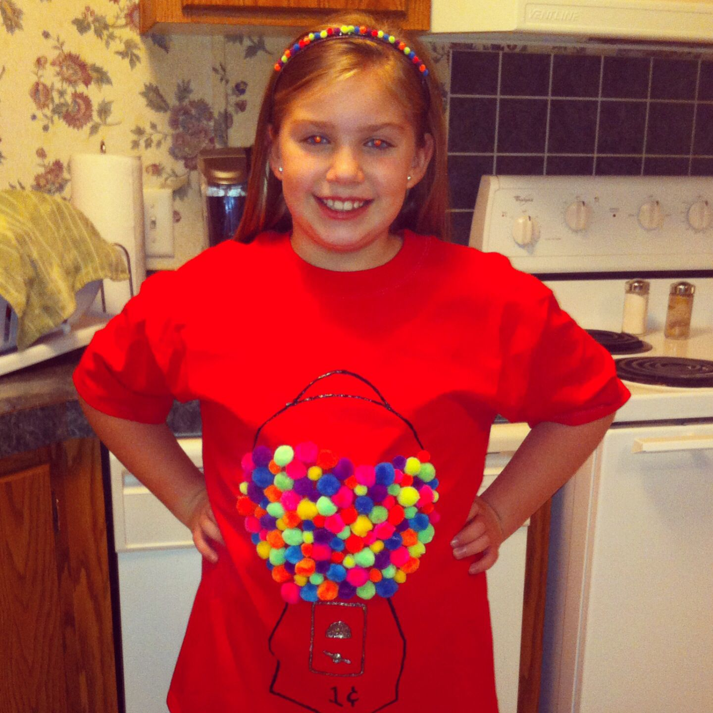 100 Days Of School Gumball Shirt