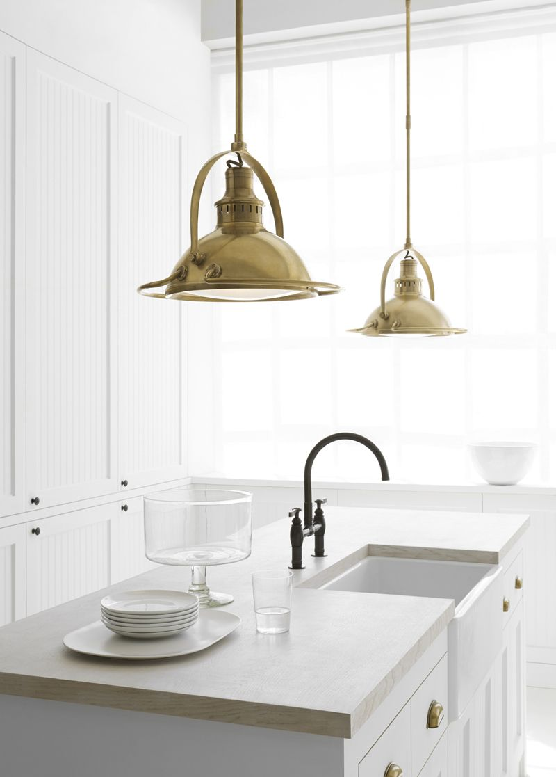 #HotItemOfTheDay Patrick Medium Pendant by Thomas O'Brien, available in three finishes | TOB5261 | in stock and ready to ship!