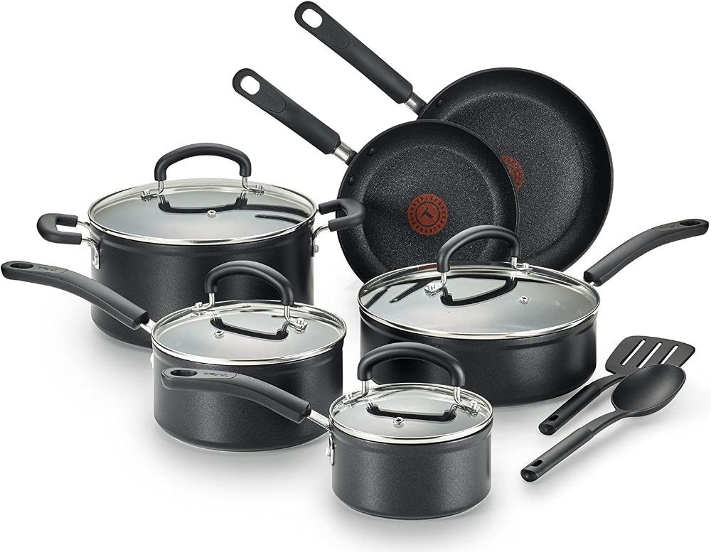 Great Cookware Set Of Nonstick Dishwasher Pots And Pans Safest Cookware Dishwasher Safe Cookware Cookware Set