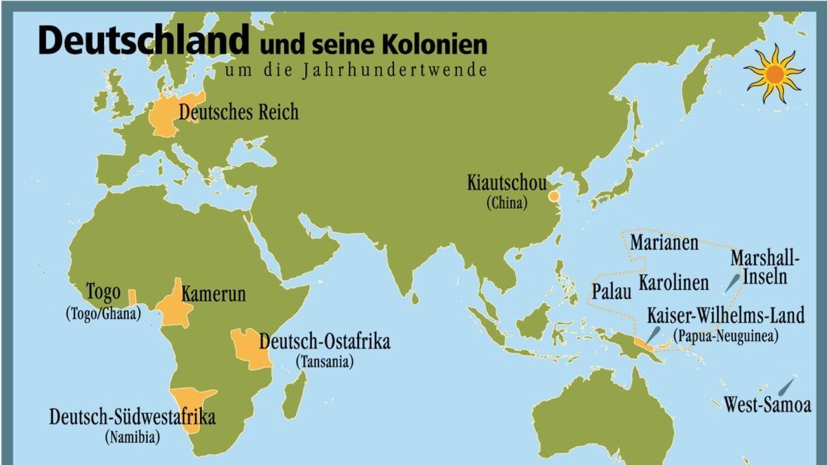 karte deutsche kolonien Lange widerstand Bismarck den lautstarken Forderungen, für das