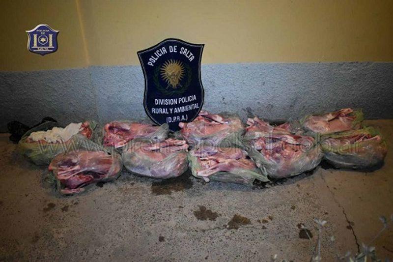 Detenido por vender carne de cabra en plena Plaza 9 de Julio: Por el hecho quedó demorada una mujer y la carne decomisada para su posterior…
