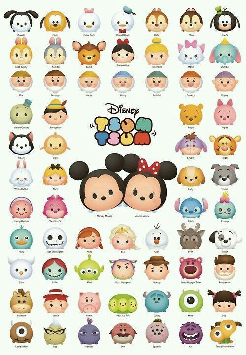 Line Disney Tsum Tsum | Disney | Pinterest | Disney, Dibujos and ...