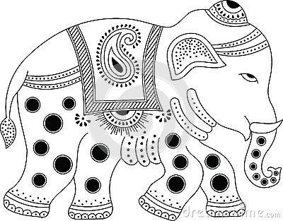 indian elephant clipart - Google Search   Ilustration   Pinterest ...
