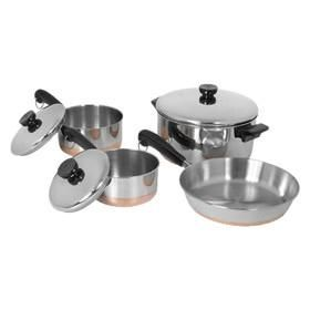 Revere Cookware 1400 Line Stainless Steel 7 Piece Cookware Set Cookware Set Cookware Set Stainless Steel Stainless Steel Cookware