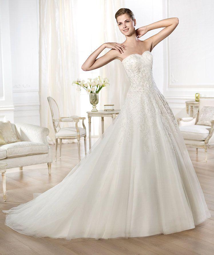 Buy Wedding Dress Pronovias Olybeth 2014 At Cheap Price