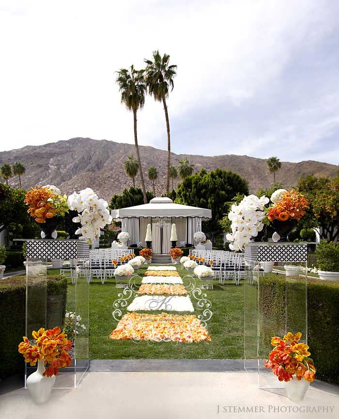 Viceroy Palm Springs Wedding: Hip And Modern