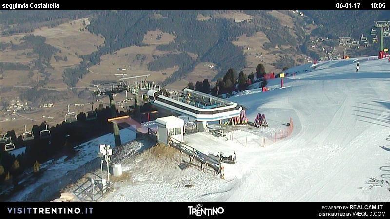 Mobili alpe ~ Webcam seggiovia costabella cavalese alpe cermis tn