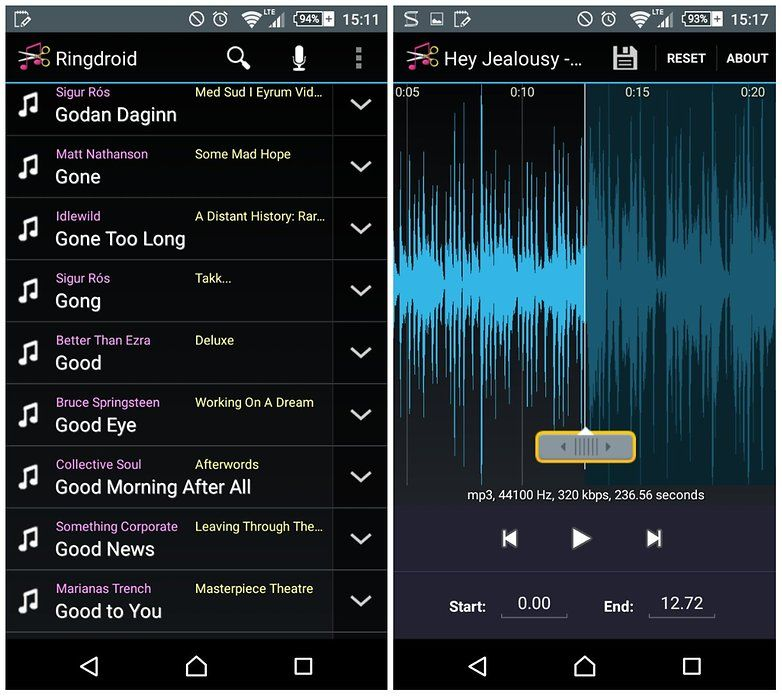 androidpit how to turn any song into ringtone 4 Android
