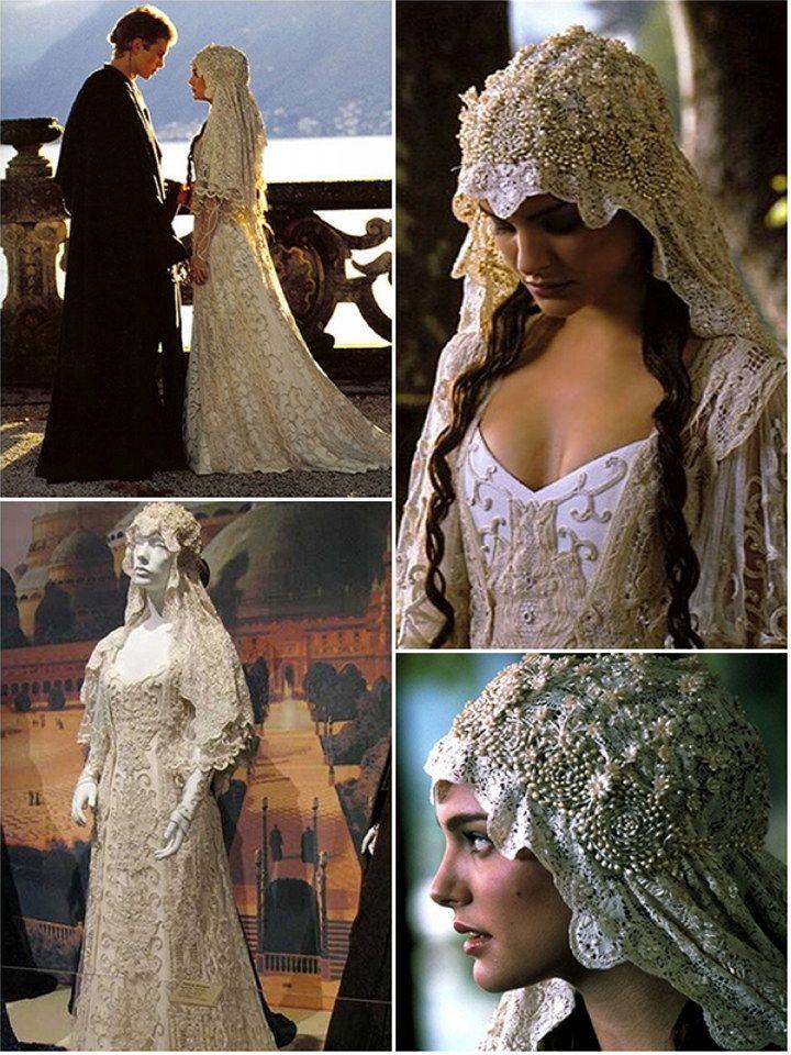 iconic wedding dresses in film : 'star wars' | star wars | boda de