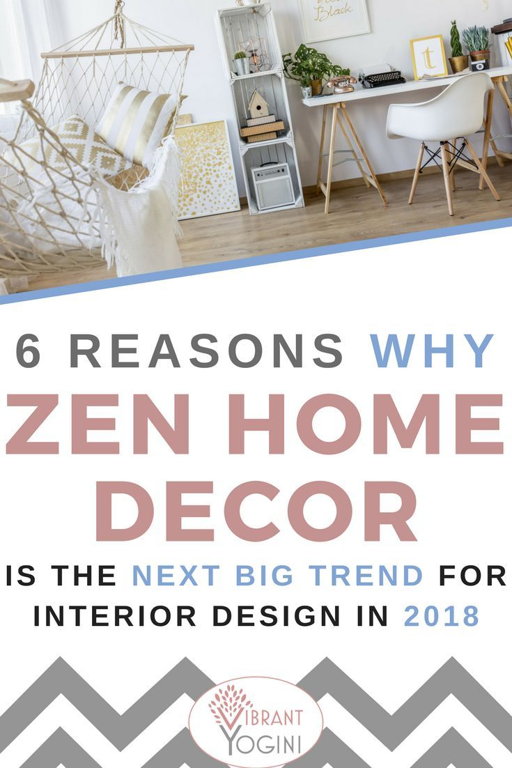 6 Reasons Why Zen Home Décor Is the Next Big Trend for Interior ...