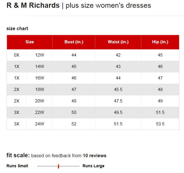 richards dresses plus size chart via macys also brand name rh pinterest