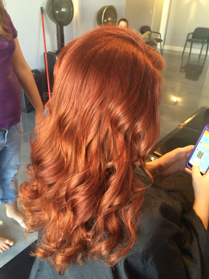 No This Is Not Natural So Proud Of My Aloxxi Color Ginger Hair Color Long Hair Styles Long Hair Color