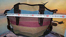 404102693 Multicolor rayas la lona de los totalizadores del bolso de las mujeres  Hobos y bolsos de hombro: Amazon.es: Equipaje