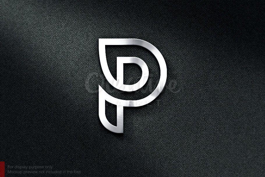 P Monogram P Logo Design Logo Design Lettering