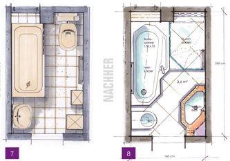Minibäder kleine bäder minibäder kleine badezimmer unter 4m wohnen